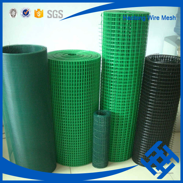 Hotsale anping cheap 1/2 inch plastic coated welded wire mesh