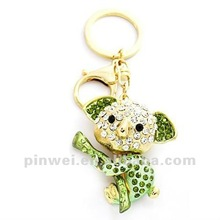 Fashion Keyring Metal with Rhinestone Koala KC11173