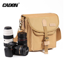 high quality canvas digital sling vintage SLR camera shoulder bag