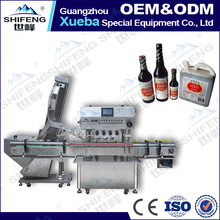 SFXG-120-8 Automatic soy sauce Bottle Capping Machine