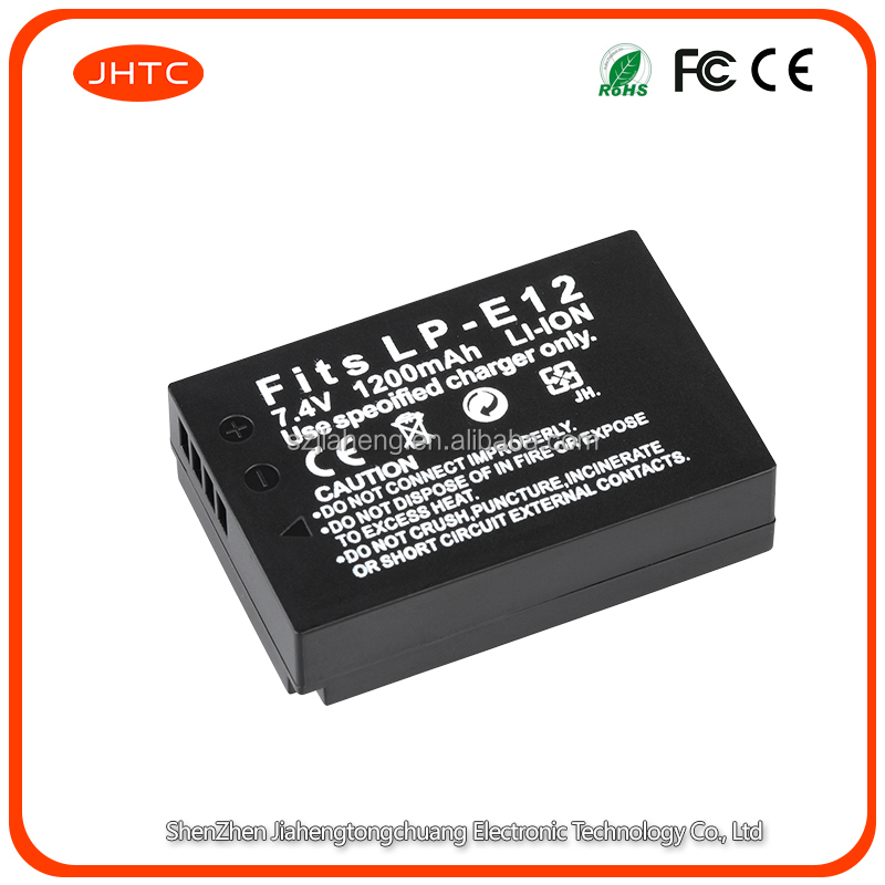 LP-E12 LP E12 LPE12 Rechargeable <strong>Battery</strong> for Canon EOS M <strong>M10</strong> Rebel SL1 100D Digital Cameras