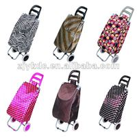 Foldable Fashionable Shopping Trolley/Outdoor Shopping Trolley