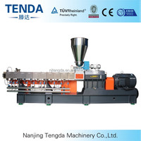 PP Material Twin Screw Extruder for Recycling Granules