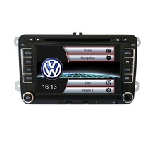 vw origianl UI univeral car dvd player with gps radio bluetooth swc aux in