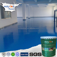 High performance clear protective and non-dusting epoxy 2k paint