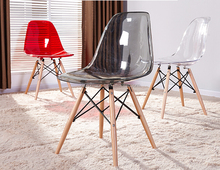 china beauty wholesale transparent polycarbonate ames chair