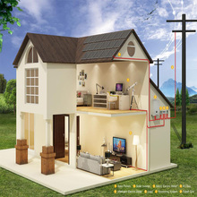 Hot sale best quality solar panal home system