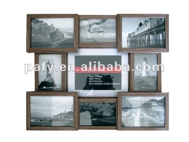 mdf wand collage bilderrahmen fotorahmen fr bilder 4 6 frame produkt id 682111182. Black Bedroom Furniture Sets. Home Design Ideas