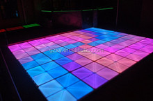 HOT!!led dance floor tiles for fashion show ,stage, nightclub lighting