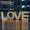 Led Illuminated Love Light Up Letters