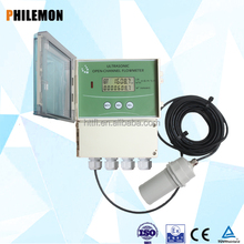 open channel sensor water flow for river flow meter principle