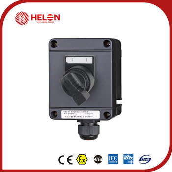 BZA8050 K Series of explosion-proof anti-corrosive master controller (Lighting switch)