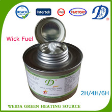 singel people hot-pot wick chafing dish fuel with pure DEG for hotel supply