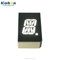 ROHS Approved 1 digit 16 segment LED Display KH10504AW1D-1S White color Made by 0402 SMD LED 16 segment LED Display