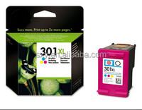 1 Year 100% Guarantee Geniune Original cheap ink cartridge for HP 301 301XL