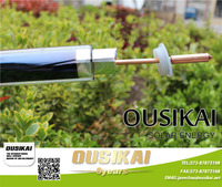 Haining OUSIKAI High quality solar collector tubes solar glass vacuum tube HEAT PIPE