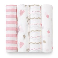 High quality 47''x47'' 100% organic cotton or bamboo cotton baby muslin swaddle blankets