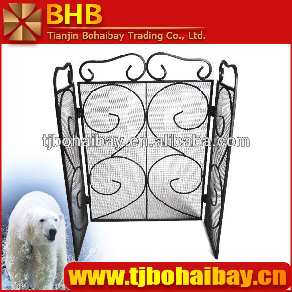 BHB painted fireplace screen