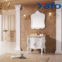 YATO Oak wood bathroom Antique furniture