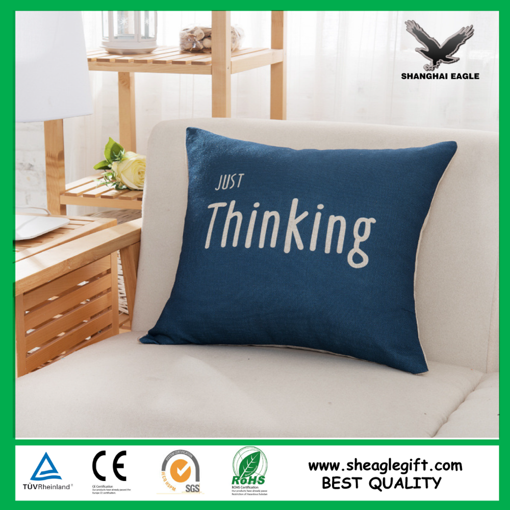 Simple style personal cushion cover