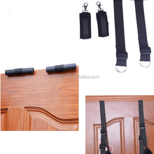 Factory directly offer leather sex swing male bondage bed restraints handcuffs anklecuffs sex whips ball gag