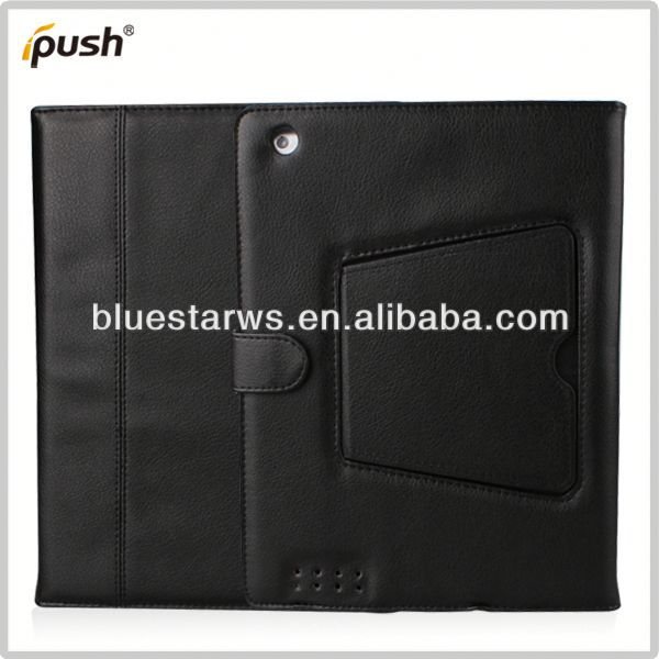 2014 factory directly stylish Bluetooth Keyboard Leather Case For Ipad 2 3 4 sublimation leather cover