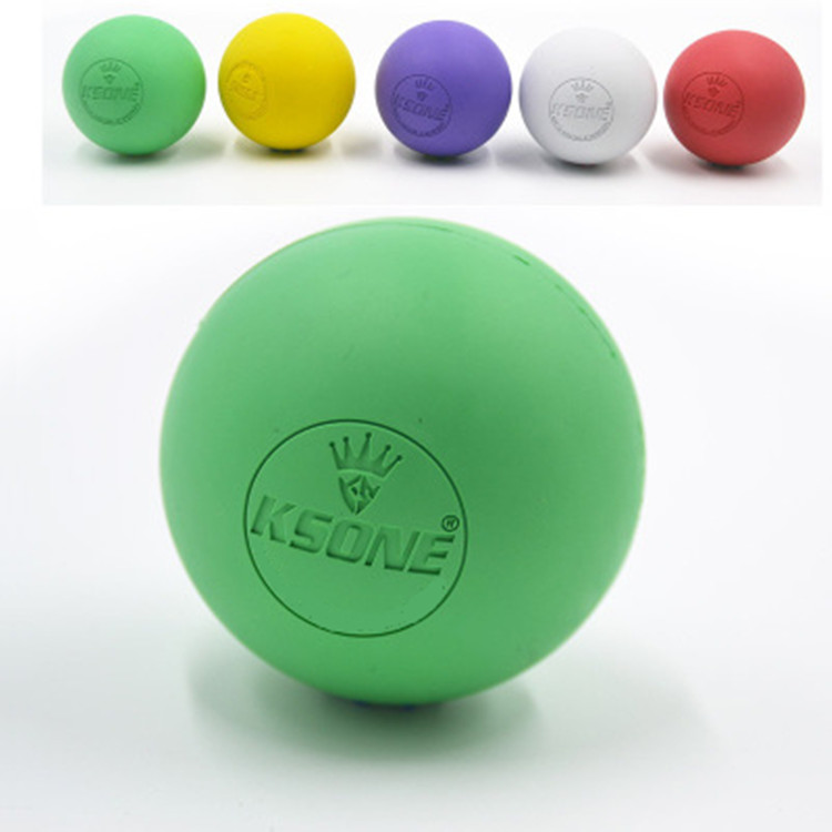 Cross-fit lacrosse massage ball sets coustom color and logo