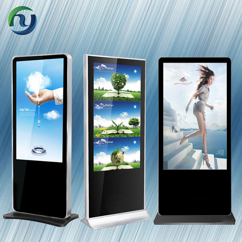 42 Inch LCD Display Advertising Vertical Digital Signage With Touch Screen Kiosk