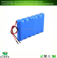 long cycle life 12v battery pack 18650 rechargeable li ion battery pack for portable applicance