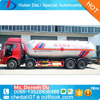 15 Tons Four axles Liquefied Natural Gas Tanker trucks for sale with low prices