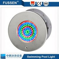 10w 18w 24W pool light transformer and PLP-001 led surface mounted submersible led light for swimming pool 12v