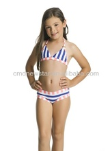 2016 hot sexy children bikini swimwear