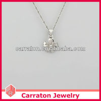 Wholesale Flower Shape Silver Charms To Make Jewelry