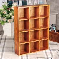 SEARUN new products 2017 oem wooden crafts display crates
