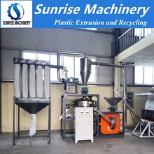 pvc pipe pulverizer machine
