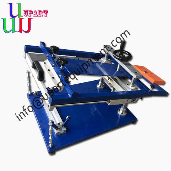 China manual cylinder screen printing machine,home screen printing