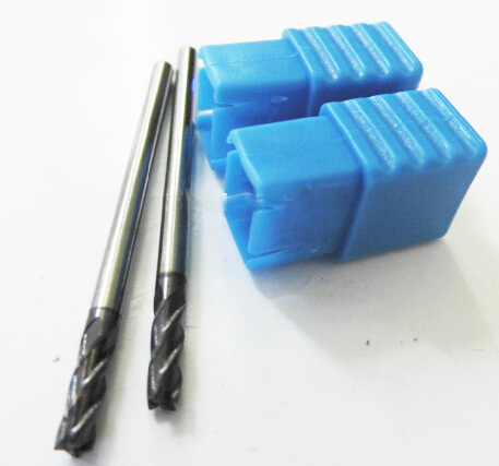 HRC55 CNC Tungsten Carbide End Mill Coating TiALN