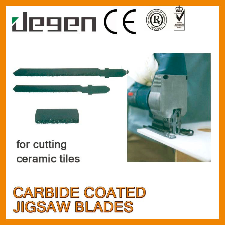 "CCF009 76mm 3"" Tungsten Carbide Coated Jigsaw Blade"