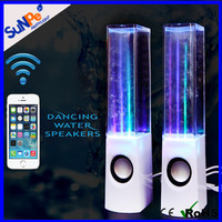 High Quality 2.0 USB Power Music Mini Wireless Bluetooth Speaker Water Dancing Box Speakers