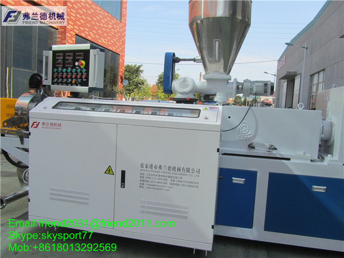 plastic extruder machine/wpc foam board production line