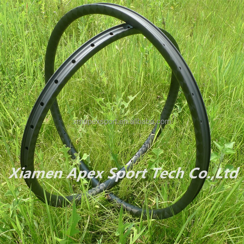 "China factory 700c 27.5"" mtb carbon rims for carbon mountain bike wheel"