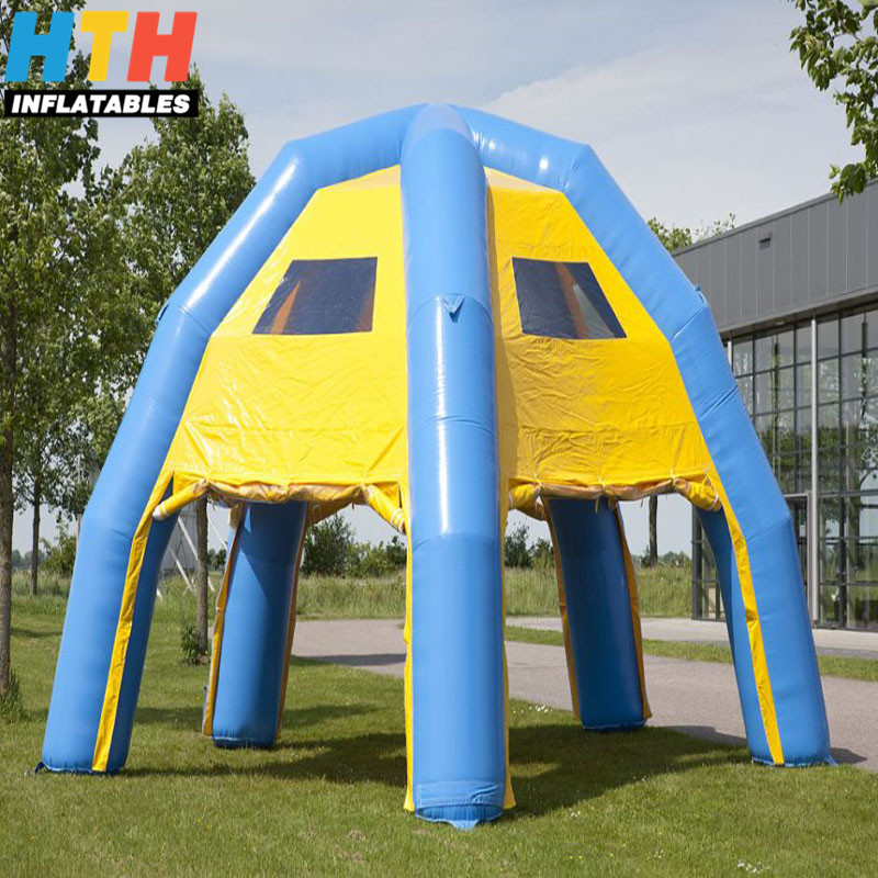 customized popular inflatable soccer dome