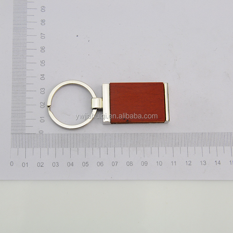 Hot new retail products promotion wood keychain from alibaba premium market