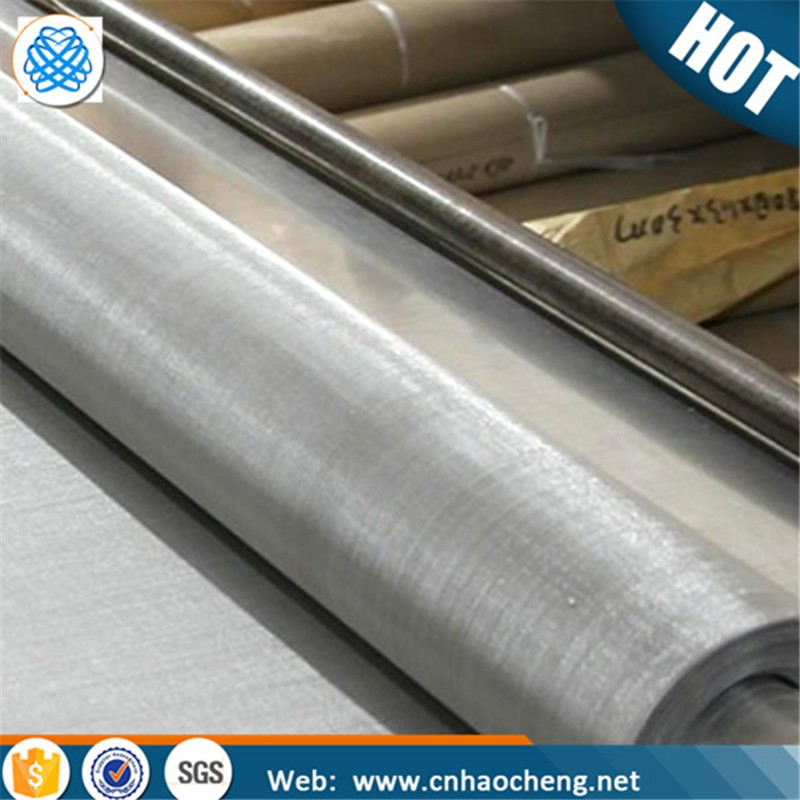 Food grade 430 magnetic stainless steel metal woven wire mesh fabric