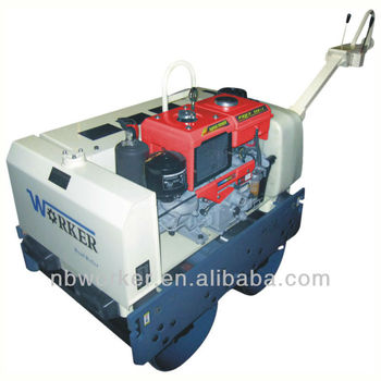 WKR850 double drum vibrating roller