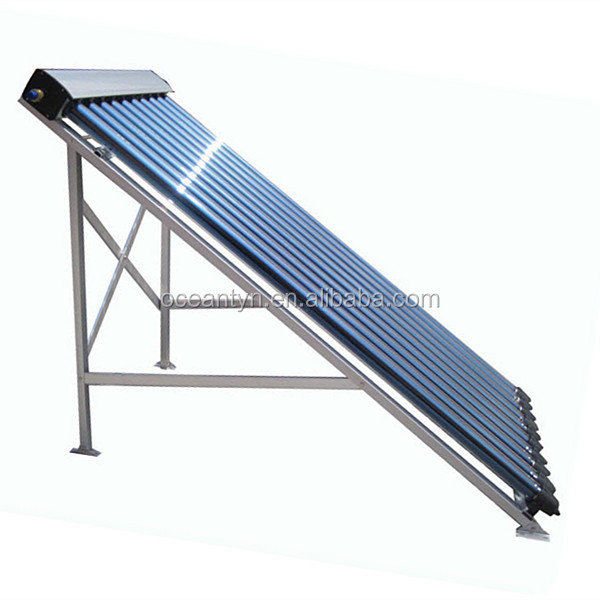 HEAT PIPE solar collector / Solar water heater 100L collecting sunshine.