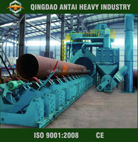 Conveyor Type shot blasting machine for round and billets