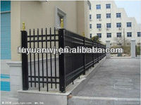 powed coated sample designs wrought metal gate color for yard (factory)