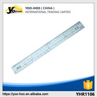 Hot selling high quality Plastic transparent 30cm ruler for school