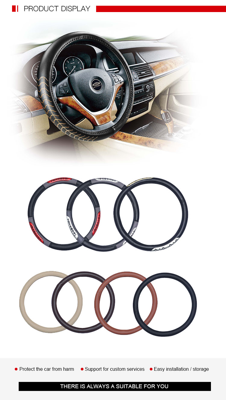 Economical Universal Shrink Car Steering Wheel Cover
